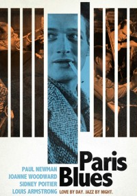 Paryski blues (1961) plakat