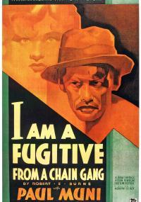 Jestem zbiegiem (1932) plakat