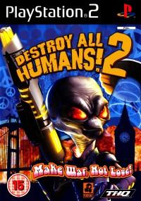 Destroy All Humans! 2 (2006) plakat