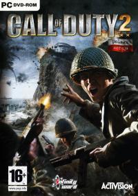 Call of Duty 2 (2005) plakat