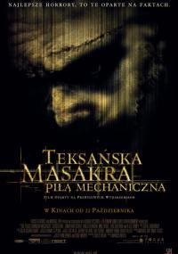 Teksańska masakra piłą mechaniczną (2003) plakat
