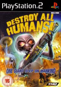 Destroy All Humans! (2005) plakat