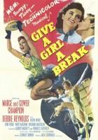 plakat - Dajcie dziewczynie szansę (1953)