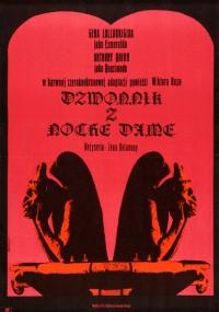 Dzwonnik z Notre Dame (1956) plakat