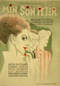 Min søn Peter (1953) plakat
