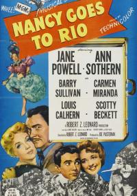 Nancy jedzie do Rio (1950) plakat