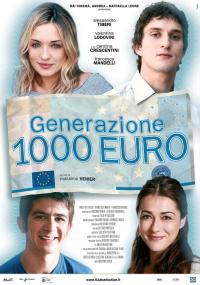 Generazione mille euro (2009) plakat