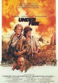 Pod ostrzałem (1983) plakat
