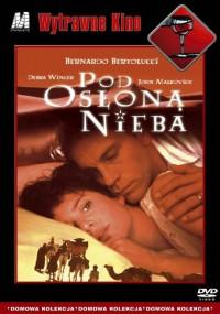Pod osłoną nieba (1990) plakat