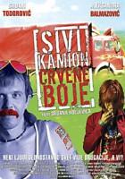 plakat - Szara ciężarówka w kolorze czerwonym (2004)