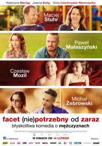 Facet (nie)potrzebny od zaraz (2014) plakat