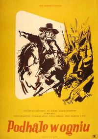 Podhale w ogniu (1955) plakat