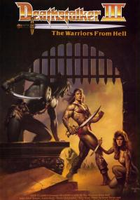 Łowca śmierci 3: Deathstalker i wojownicy z piekieł (1988) plakat