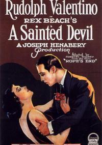 Święty diabeł (1924) plakat