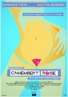 Różowy camembert