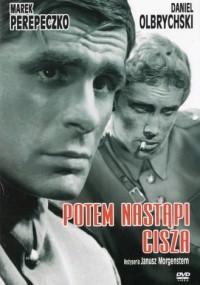 Potem nastąpi cisza (1965) plakat