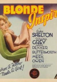 Blonde Inspiration (1941) plakat