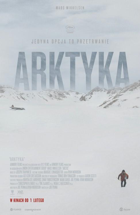 arktyka, ranking filmów o przetrwaniu, survivalu