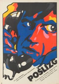Poślizg (1972) plakat