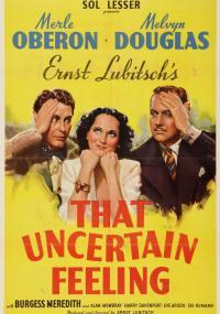 Niepewne uczucie (1941) plakat