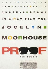Dowód (1991) plakat