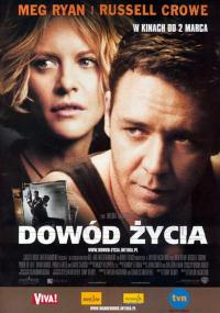 Dowód życia (2000) plakat