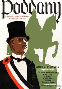 Poddany (1951) plakat