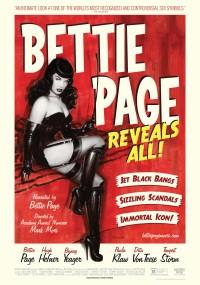 Odkrywając Bettie Page (2012) plakat