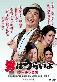 Otoko wa tsurai yo: Fûten no Tora (1970) plakat