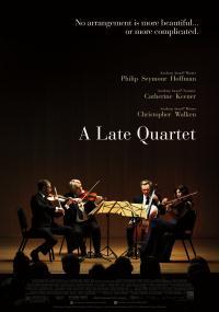 Późny kwartet (2012) plakat