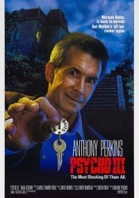 Psychoza III (1986) plakat