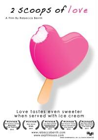 2 Scoops of Love (2011) plakat