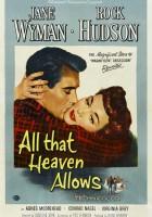 plakat - Wszystko, na co niebo zezwala (1955)