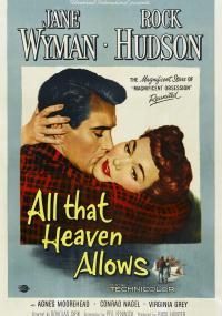 Wszystko, na co niebo zezwala (1955) plakat