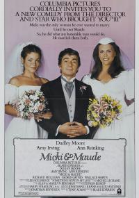 Micki i Maude (1984) plakat