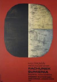 Rachunek sumienia (1964) plakat