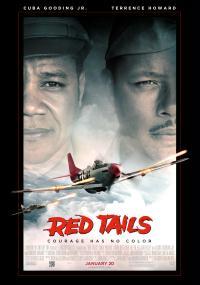 """Eskadra """"Czerwone ogony"""" (2012) plakat"""