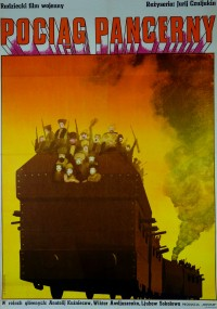 Pociąg pancerny (1973) plakat