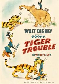 Oko w oko z tygrysem (1945) plakat