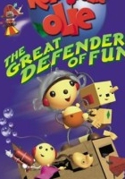 Olinek Okrąglinek - wielki obrońca zabawy (2002) plakat