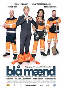 Blå mænd (2008) plakat