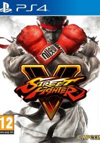 Street Fighter V (2016) plakat