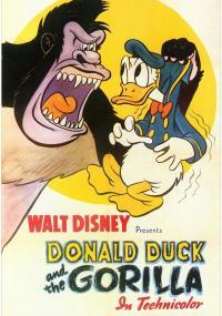 Kaczor Donald i goryl
