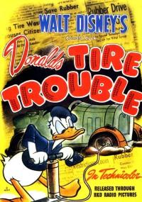 Kłopoty z oponą (1943) plakat