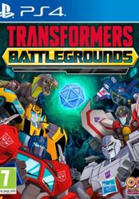 Transformers Battlegrounds (2020) plakat