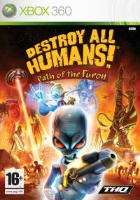 Destroy All Humans!: Path of the Furon (2008) plakat