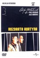 plakat - Rozdarta kurtyna (1966)