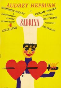 Sabrina (1954) plakat