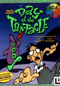 Day of the Tentacle (1993) plakat