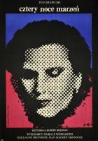 plakat - Cztery noce marzeń (1971)